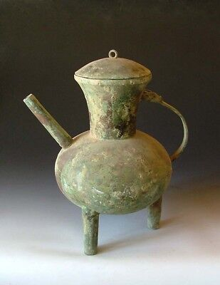 Spring&Autumn Period Bronze He the Vine Vessel