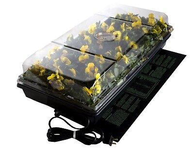 Germination Station With Heat Mat Indoor Seed Starter Tray with Humidity Dome