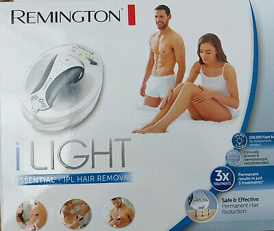 Remington i-Light IPL Unisex Hair Removal System Multi Flash Modes IPL6250