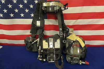 Interspiro 4.5 High Pressure SCBA Pack 1997/2002 Edition with HUD's