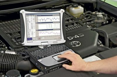 Panasonic Toughbook CF-18 Windows XP Diagnostic auto Diagnostique rugged obd2