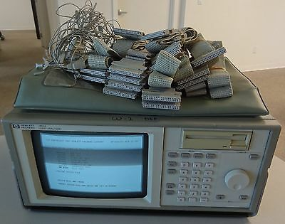 Hewlett Packard 1650A Logic Analyzer With Cables