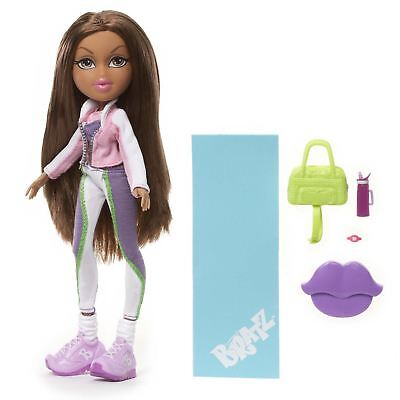 Bratz Fierce Fitness Doll- Yasmin Bratz Figure With Accessories