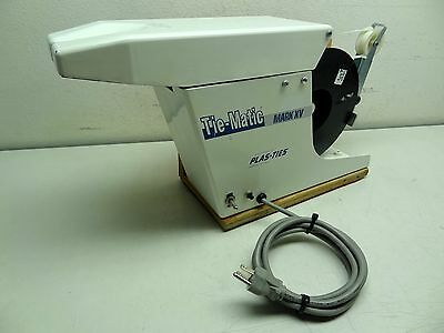 Plas-Ties Tie-Matic Mark Xv Model 110-603 Twist Tie Machine 120V, 4.1 Amps, Usa