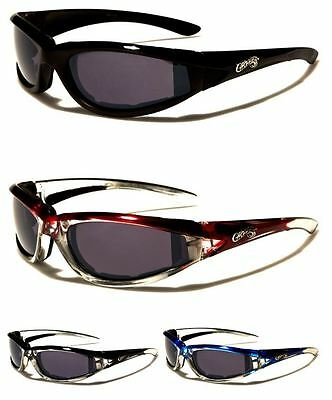 New Choppers Mens Womens Motorcycle Bikers Sports Goggles Sunglasses Wrap Uv400