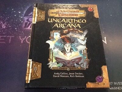 Dungeons And Dragons Unearthed Arcana