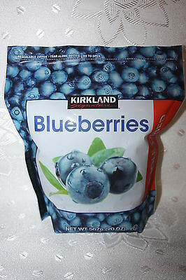 Kirkland Signature WHOLE DRIED BLUEBERRIES 567g bag