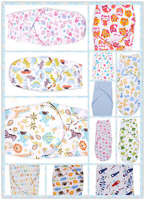 Baby Swaddle Wrap up Blanket Sleeping bag Cotton Bedding Sleepsack Care & Love