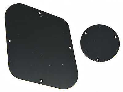 Black LP Rear Control & Switch Plate Cavity Cover For Epiphone Les Paul
