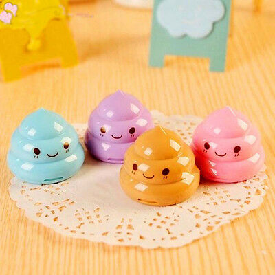 Cute Funny Emoji Mini Double Hole Pencil Knife Sharpener For School Students