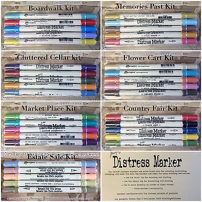 TIM HOLTZ distress markers - Ranger - 5 markers - draw sketch art manga journal