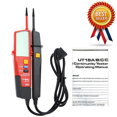 UNI-T UT18D Auto Range Voltage and Continuity Tester with LCD Backlight Date