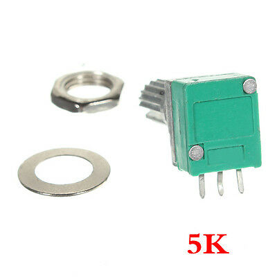 5 K Ohm linear Rotary Pot-Potentiometer mit Mutter & Distanz GY