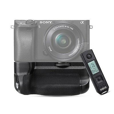 Meike MK-A6300-Pro Battery Grip 2.4G Wireless Remote Control For Sony A6300