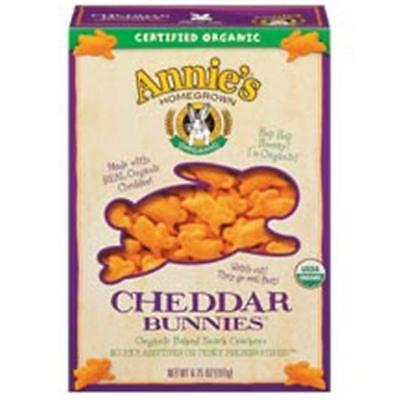 Annie'S Homegrown Cheddar Bunnies 6.75 Oz -Pack of 12
