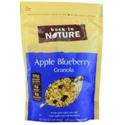 Back To Nature Granola Apple Blueberry 12.5 Oz (Pack of 6)