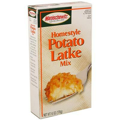 Manischewitz Homestyle Potato Latke Mix 6-Ounce Boxes (Pack of 6)