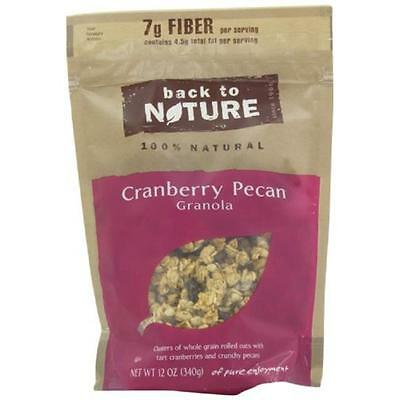 Back To Nature Cranberry Pecan Granola 11-Ounce Pouches (Pack of 6)