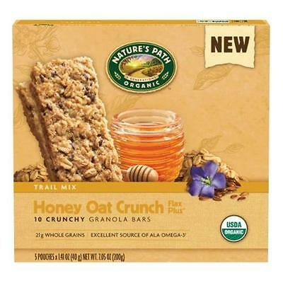 Nature`S Path Honey Oat Crunch Flax Plus 7.05 Oz -Pack of 6