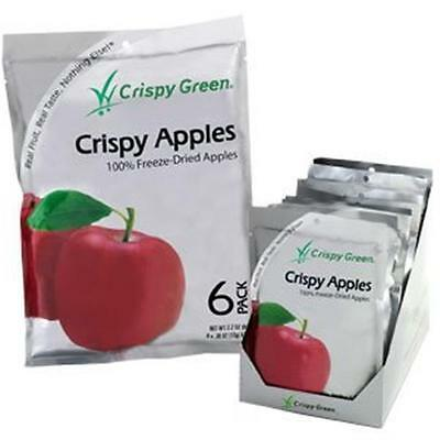Crispy Green Fruit Snacks 0.36 Ounce Freeze Dried Crispy Apple -Pack of 12