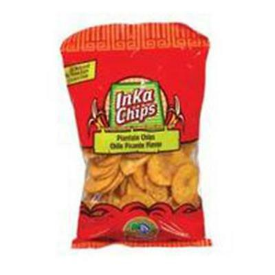 Inka Crops Inka Chip-Plantain With Chile 4-Ounce -Pack of 12