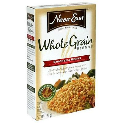 Near East Chicken Herbs Whole Grains 5.7 Oz -Pack of 12