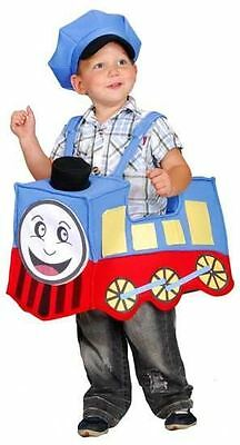Toddlers Boys Childrens Foam Train & Hat Fancy Dress Costume Outfit Age 3-4