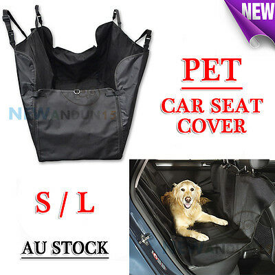 Waterproof Pet Dog Cat Car Seat Cover Cradle Hammock Protector Mat Blanket S/L