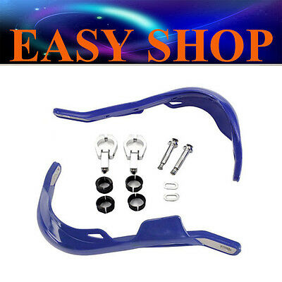 Blue Hand Guard Busters 22/28mm For YAMAHA WR YZ XT TTR 125 250 400 426 450 Pit