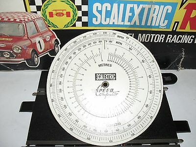 scalextric slotcar speed computer
