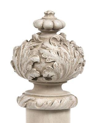 Seconds French PARIS ornate end Finial for 40mm 50mm 63mm curtain pole