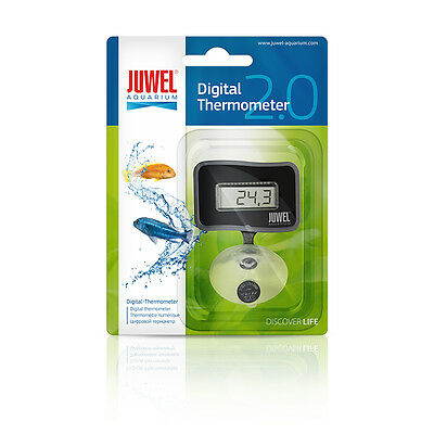 Juwel Aquarium Digital Thermometer Submersible Sucker Fish Tank • EUR 12,06