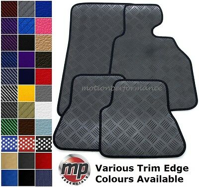 Perfect Fit Durable Black Rubber Car Floor Mats for BMW 7 Series LWB (F02) 2009+