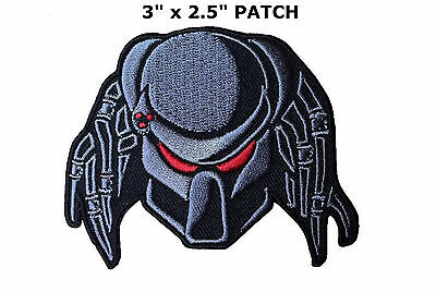 PREDATOR ALIEN MOVIE ARNOLD Iron/Sew-on Applique Patch US SELLER