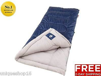 Coleman Brazos Cold Weather Light Sleeping Bag Outdoor Camping Hiking Travel