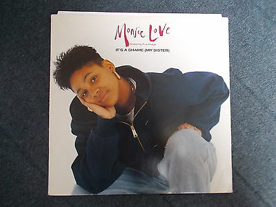 """Monie Love Featuring True Image It's A Shame (My Sister) 12"""" Cooltempo 1990"""