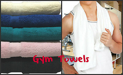 BRAND NEW EGYPTIAN TOWEL LUXURY GYM SPORTS TOWEL FITNESS RUNNING CYCLING Jogging