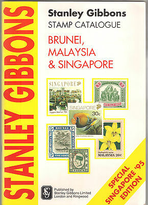 Stanley Gibbons Stamp Catalogue Special Singapore '95 Edition Brunei Malaysia