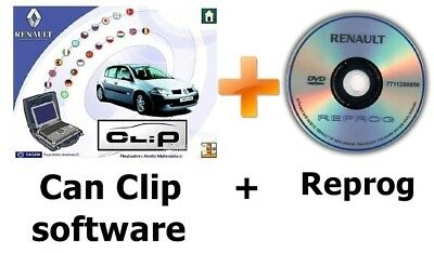 V171 Renault CAN Clip software + Reprog 151 (SEPTEMBER 2017)