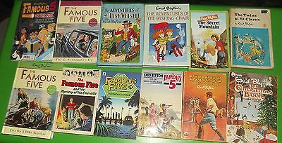 Enid Blyton Book Collection Vintage Famous Five Wishing Chair  12 books