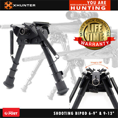 "Xhunter Shooting Swivel Rifle Gun Bipod W/pod-loc Tension Lever Pivot 6-9""&9-13"""