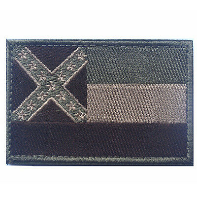 USA Mississippi STATE FLAG U.S. ARMY 3D MORALE TACTICAL HOOK LOOP PATCH #5