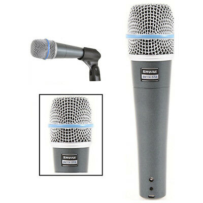 New In Box 100% SHURE BETA 57A 57-A Supercardioid Dynamic Instrument Microphone