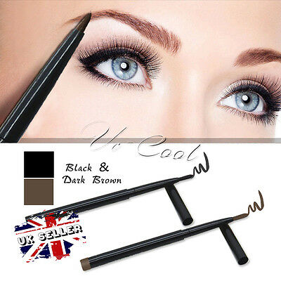 UK Waterproof Twist Long lasting Eyebrow Eyeliner Pen Beauty Make-Up Cosmetic