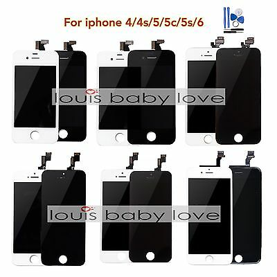 For iPhone 8 7 6 5/5C/5S SE 4S LCD Touch Screen Display Digitizer Replacement