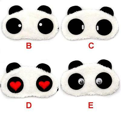 Beau Visage Masques de sommeil panda Eye Mask Sleeping Blindfold Nap Cover CC