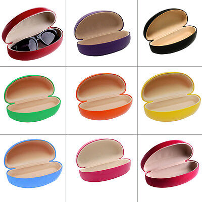 New Hard Clam Shell Glasses Case Durable Box Sunglasses Protector Multi Color