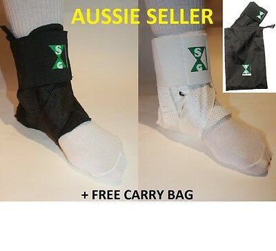 Quality Netball Ankle Guards (Brace) x 2 with Free Carry Bag  ***SPECIAL****
