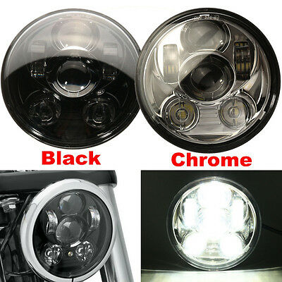 5-3 / 4 '' Motocicleta Proyector LED Lámpara Faro Daymaker Headlight For Harley