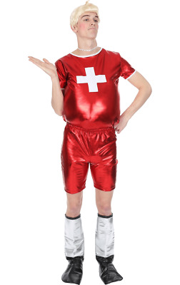 Mens Only Gay Village Funny TV 00 Stag Outfit Fancy Dress Costume